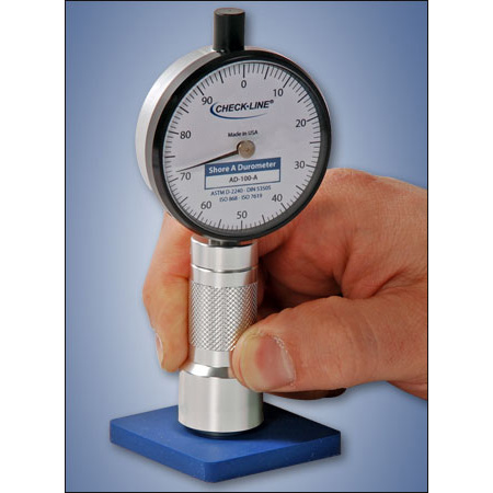 Shore hardness durometer